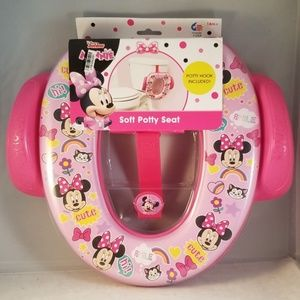 Disney junior soft potty seat minnie mouse pink